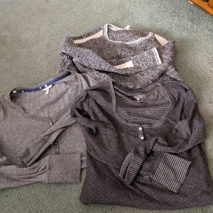 Victoria's Secret Lot of 3 Henleys and Sweater S/M